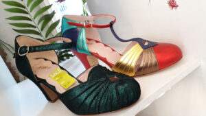 Shoes on display at Imeda's