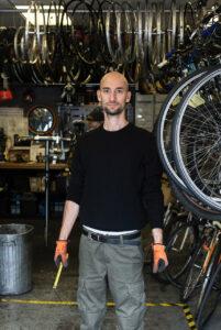 Adam Rider, owner of Perlie Rides, Hackney. Photo courtesy of Adam Rider