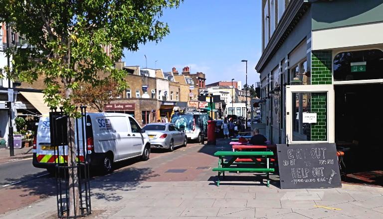 Well Street, Hackney, London. Photo by Suzanne Worthington (c) Tide 2020