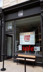 Liquor Store, exterior