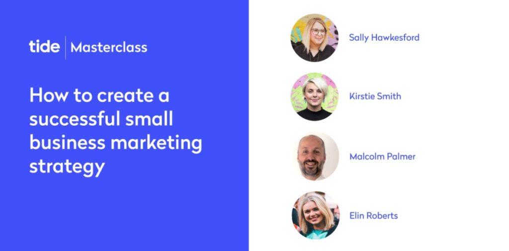 Masterclass - Create a successful marketing strategy