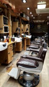 Joseph's of Mayfair, salon interior
