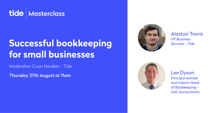 Masterclass - Successful bookkeeping