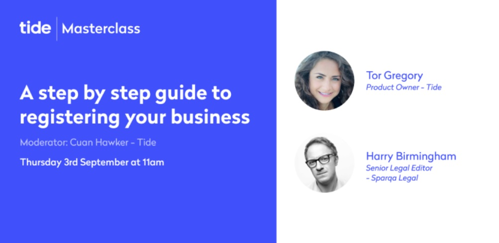 Masterclass - Registering your business