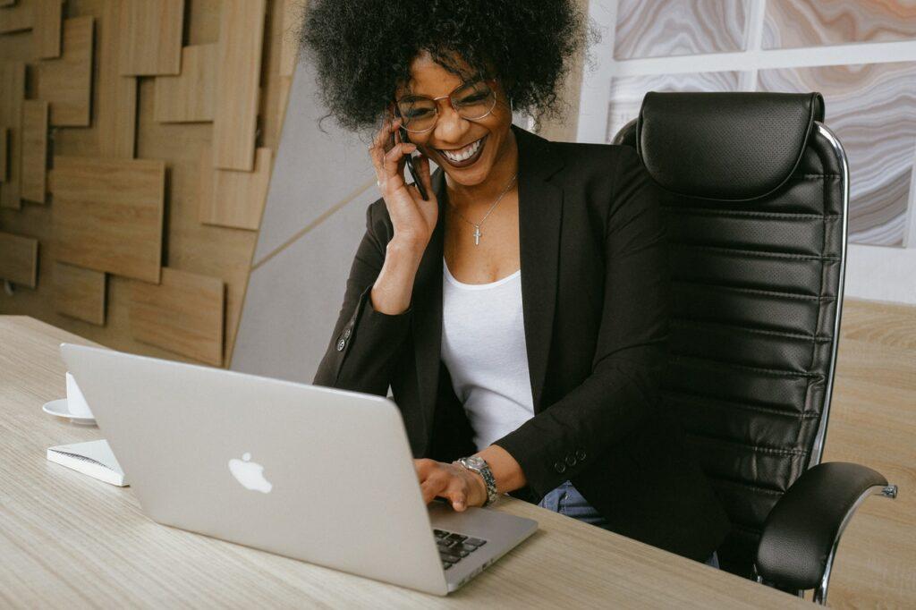 Virtual office address header