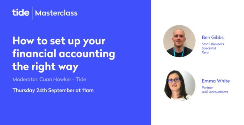 Masterclass - Set up accounting