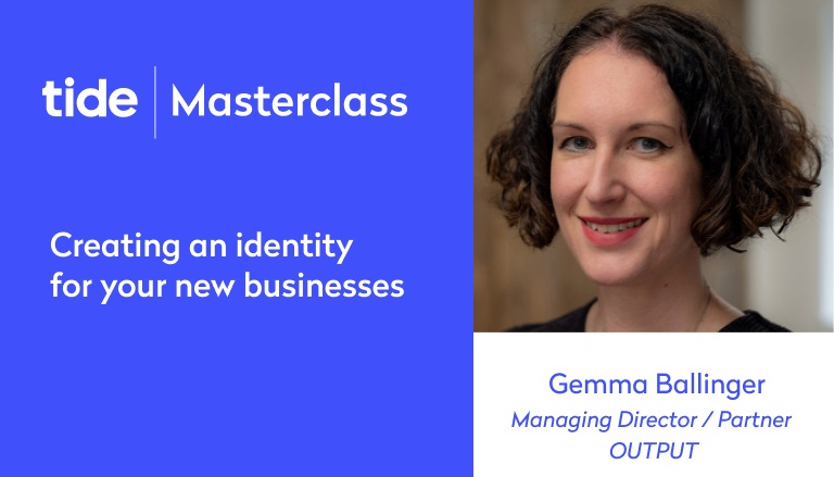 Masterclass - Create an identity for your business