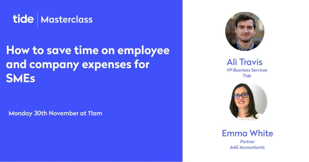 Masterclass: How to save time on employee and company expensese