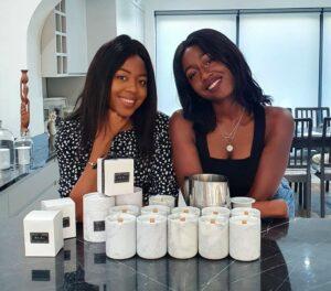 Amara and Onya, Co-Founders of ATLAS+OPHIR