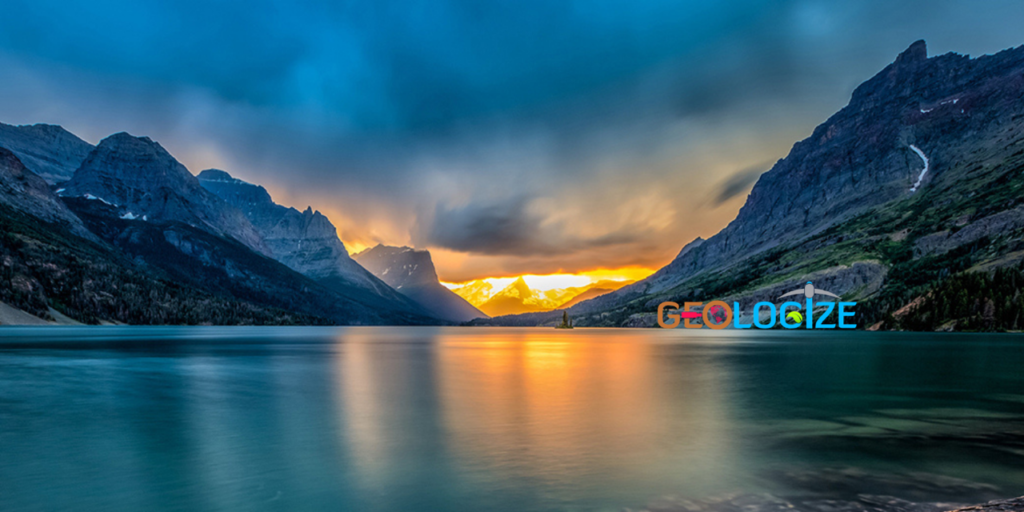 Valley and lake. Image from Canva.