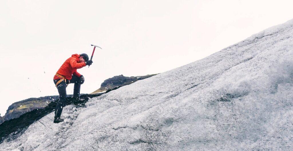 Mountain climber. Photo from Unsplash