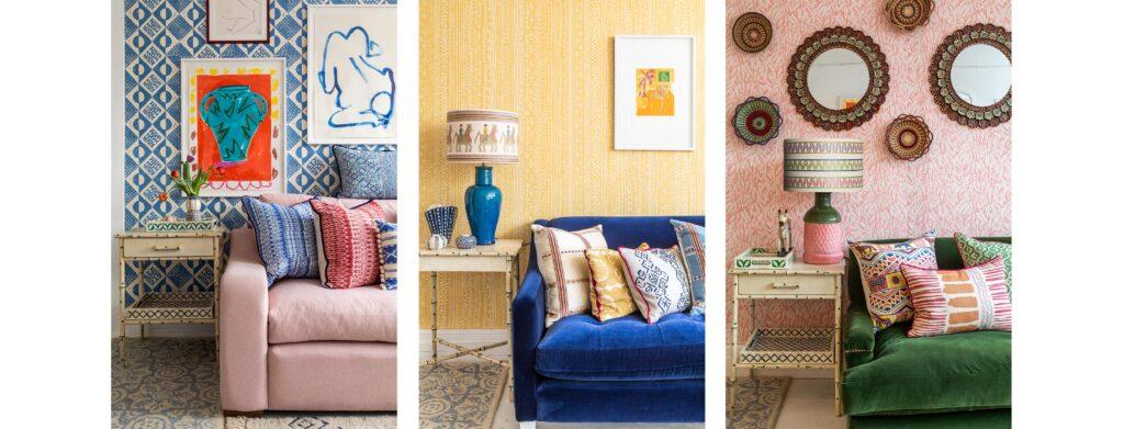 Wicklewood - three room designs