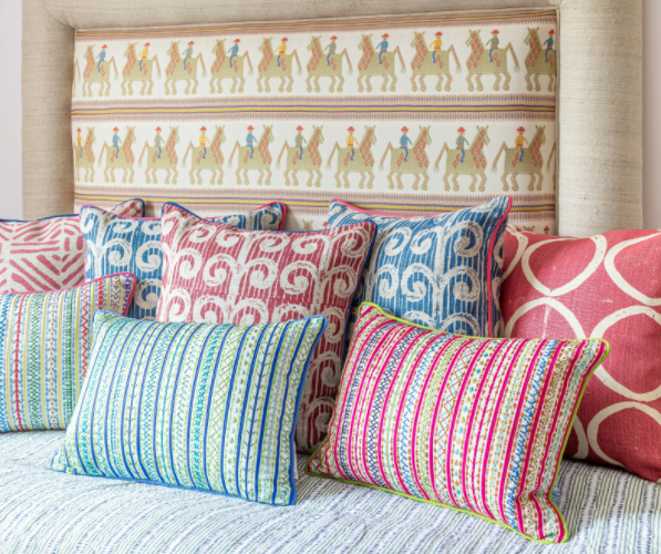 Cushions and quilts by Wicklewood