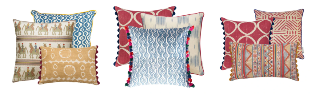 Cushion sets by Wicklewood
