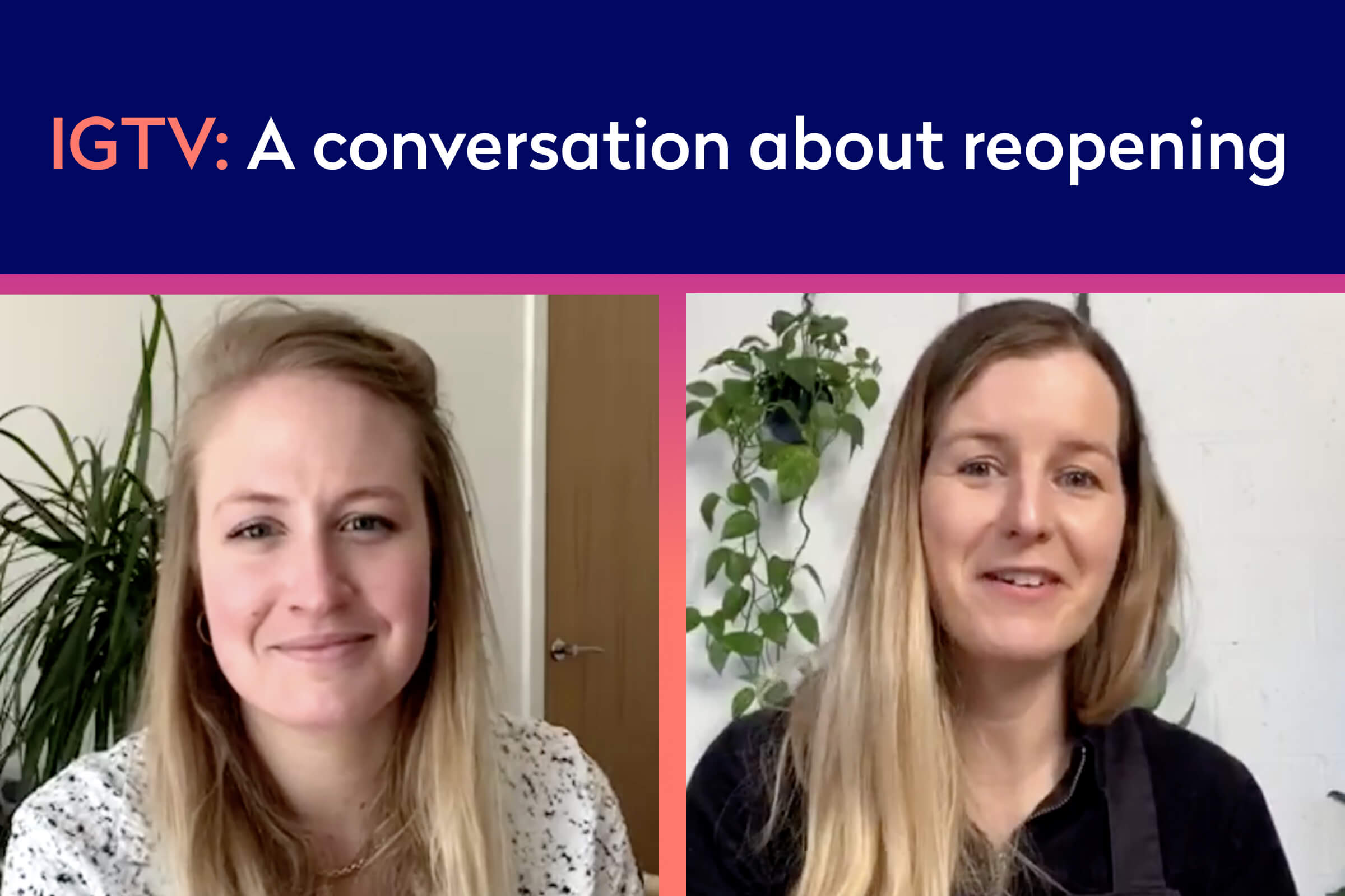 Listen again: A conversation about reopening with The London Refinery (Instagram Live)