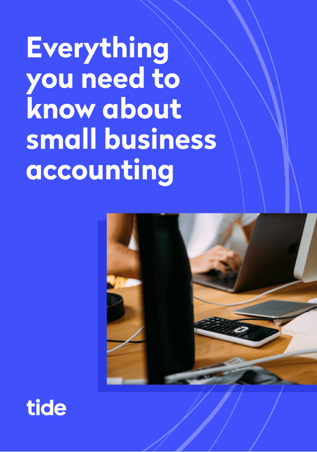 Small business accounting ebook cover