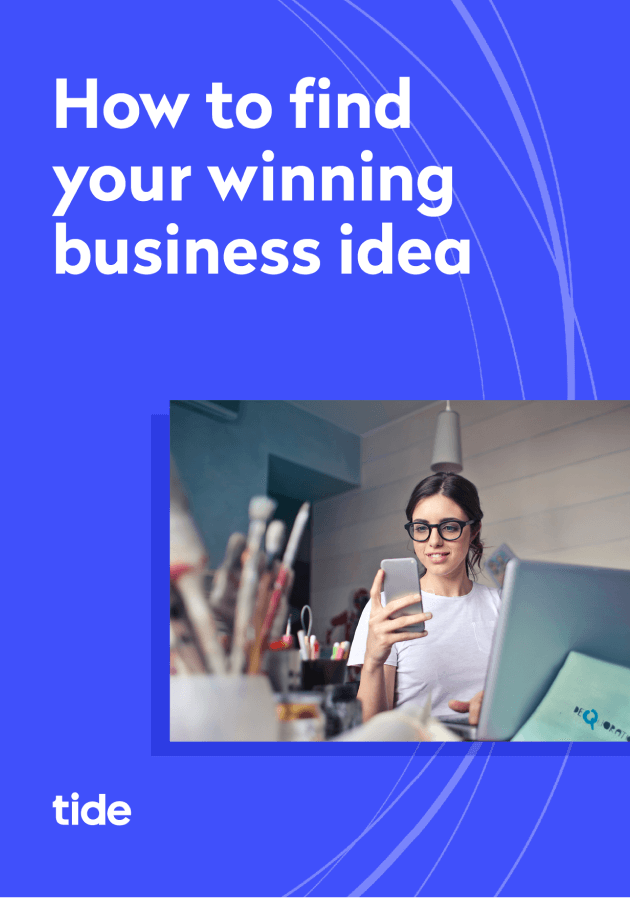 Business idea ebook cover