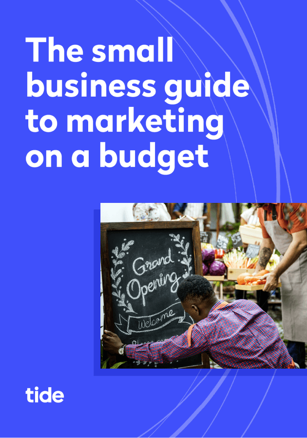 Small business marketing ebook cover