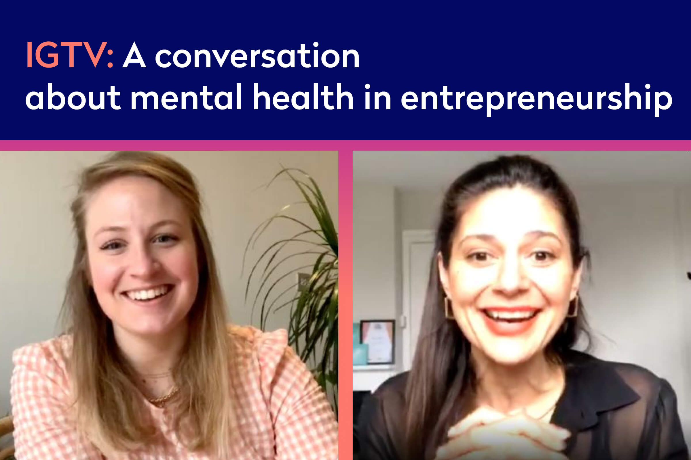 Listen again: A conversation about mental health with High Definition You (Instagram Live)