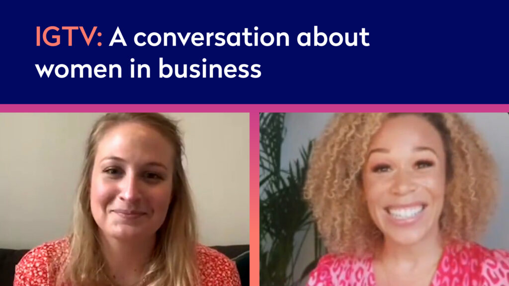 Listen again: A conversation about women in business with Ria Hebden (Instagram Live)