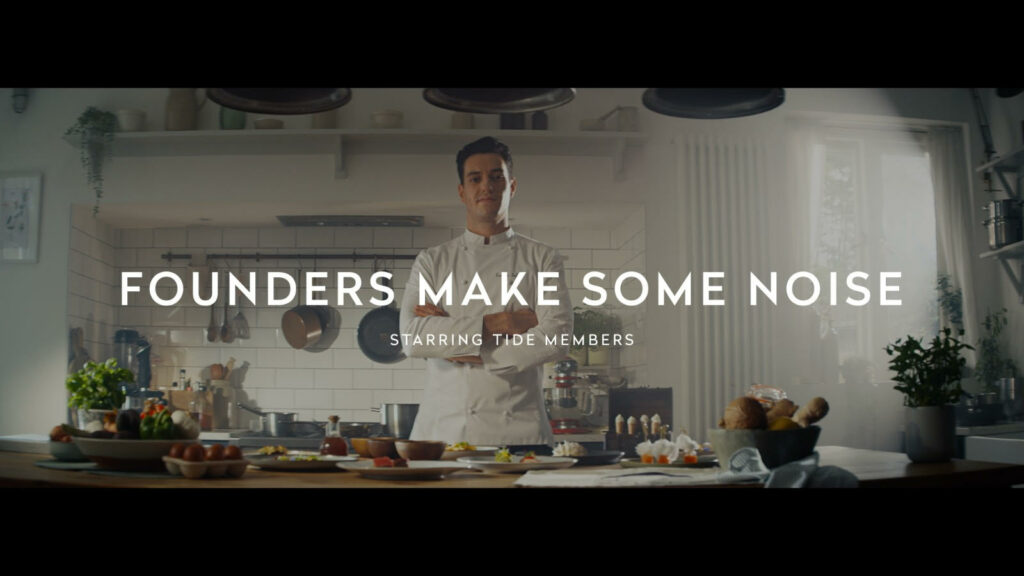 Founders make some noise! Meet the real-life stars of Tide's new TV ad