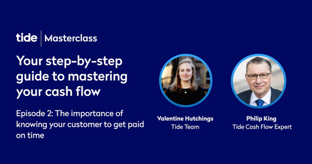 Your step-by-step guide to mastering your cash flow – Ep 2 (Tide Masterclass)